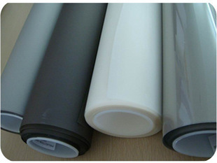 Free Shipping! 2m* 1.524m Magic rear projection screen film black color for store glass window