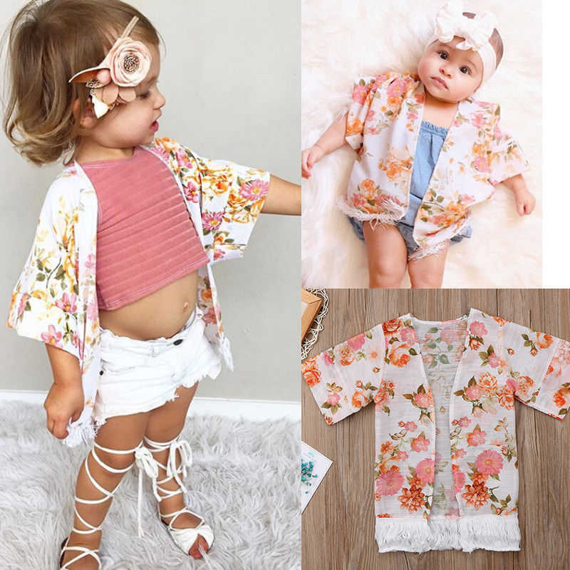 2713e402a8d6 Detail Feedback Questions about 2018 Girls Beach Cover Up Baby Kid ...