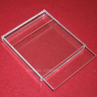Acrylic Transparent Box With Lid Sliding Gift Packaging Box Wedding Favor Valentine Day Decoration Storage Holders