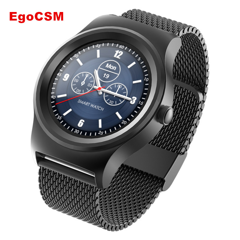 EgoCSM SMA Round dual Bluetooth smart watch with heart rate monitoring, sleep monitoring Siri voice control high-end watches bluetooth smart watch heart rate monitoring g3 plus smartwatch support siri voice control raise bright screen for android ios
