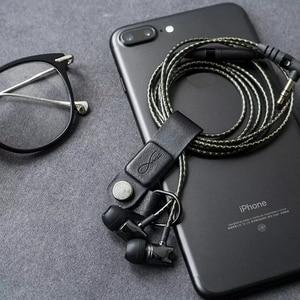 Image 5 - Оригинальный магнитный зажим Youpin Mec для кабеля, высокая совместимость, практичная Магнитная основа, кожаная пряжка для умного образа жизни