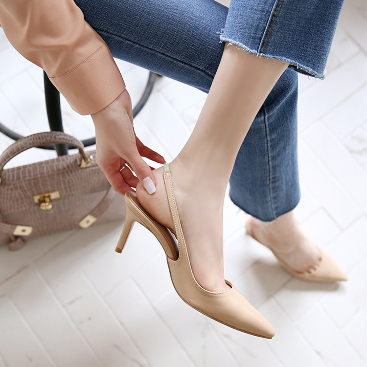 2019 High-heeled Shoes Sharp Work Womens Shoes Sexy Sandals2019 High-heeled Shoes Sharp Work Womens Shoes Sexy Sandals