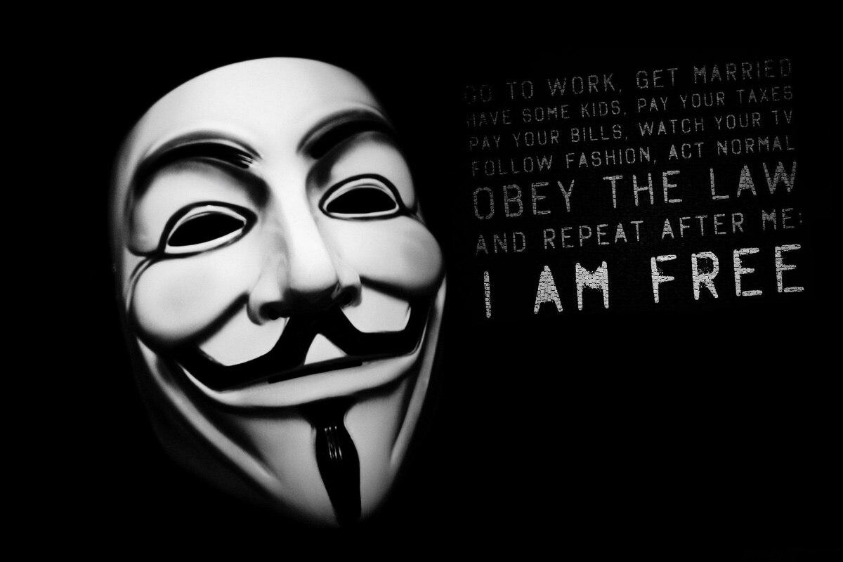 Bilder Anonym Maske frei freiheit zitieren KA315 room home wand ...