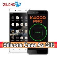 Original Oukitel K4000 Pro 5 Pulgadas Teléfono Móvil Android 5.1 MT6735P Quad Core 2 GB RAM 16 GB ROM 4600 mAh 4G LTE Smartphone