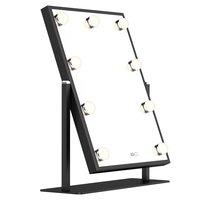 Голливуд светодиодный LED подсветка маленького зеркала с Smart Touch диммер для макияжа туалетный столик для одевания Спальня Ванная комната Зер