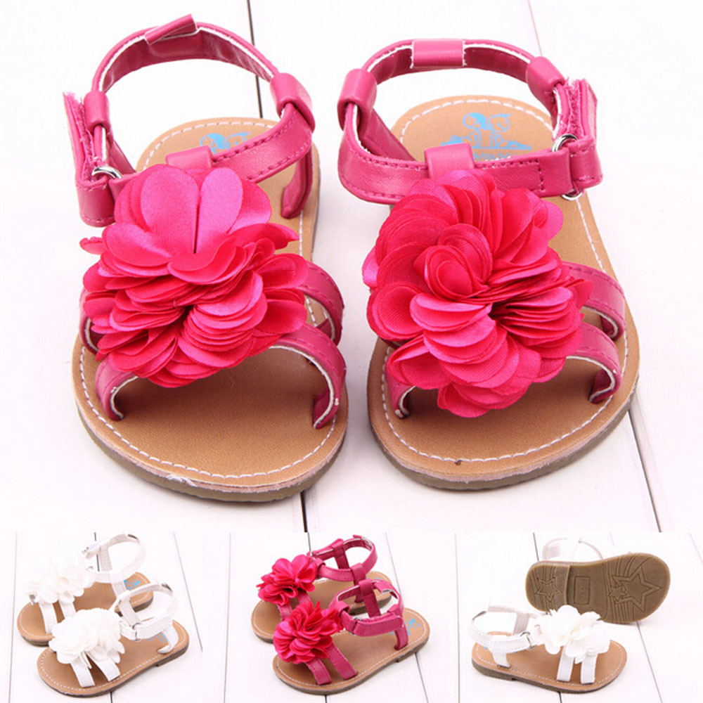 shoes for Kids girls Toddler Kids Baby Cute Solid Peony Flower Newborn Shoes for babies Autumn childrens boots