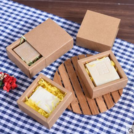 упаковка коробка мыло