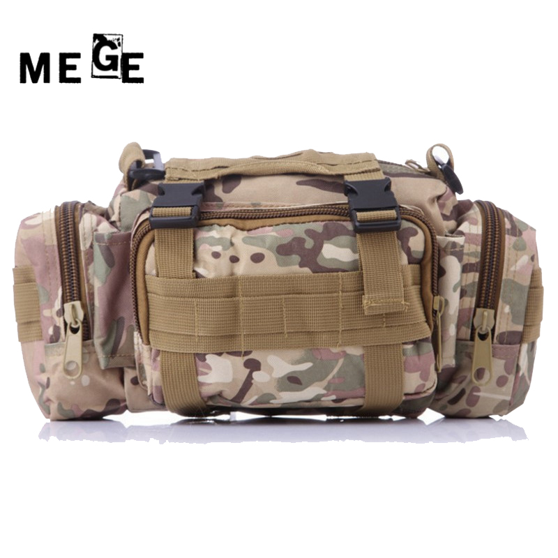 00c3a3b57133c MEGE Outdoor Military Tactical Talii Pack Wodoodporny Oxford Molle ...