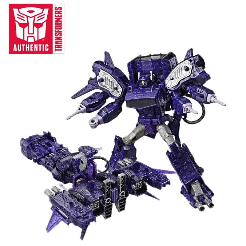 18cm transformateurs siège guerre pour Cybertron trilogie Optimus Prime onde de choc PVC figurine générations Collection modèle jouets - 2