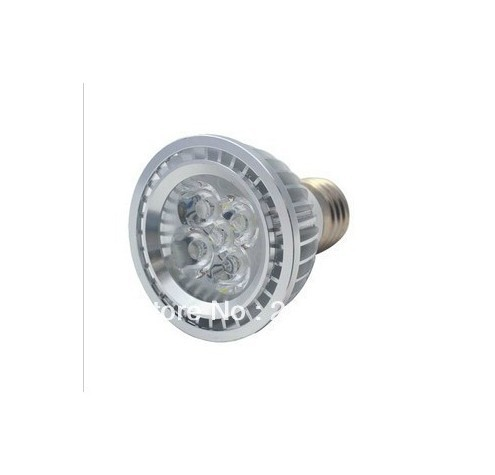 E27 5W PAR20 Led Spotlight Bulb Lamp 45degree Dimmable Cool white 110V Aluminum H-Power 550Lm Office,home
