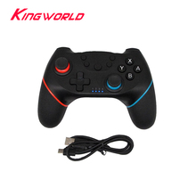 Game Joystick wireless Bluetooth game controller Gamepad For S-w-i-t-c-h Pro Host With 6-axis Handle цена 2017