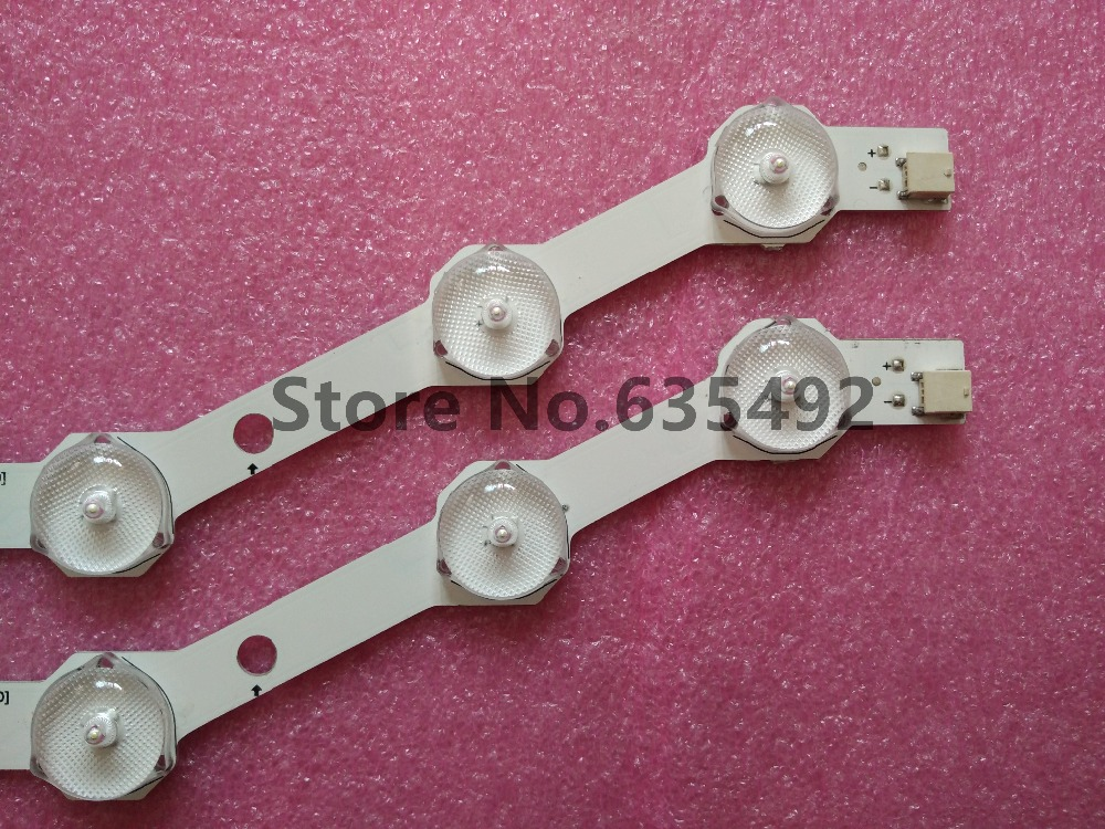 ᗐOriginal Neue 2 Teile/satz 9LED 585mm LED-backlight streifen für ...