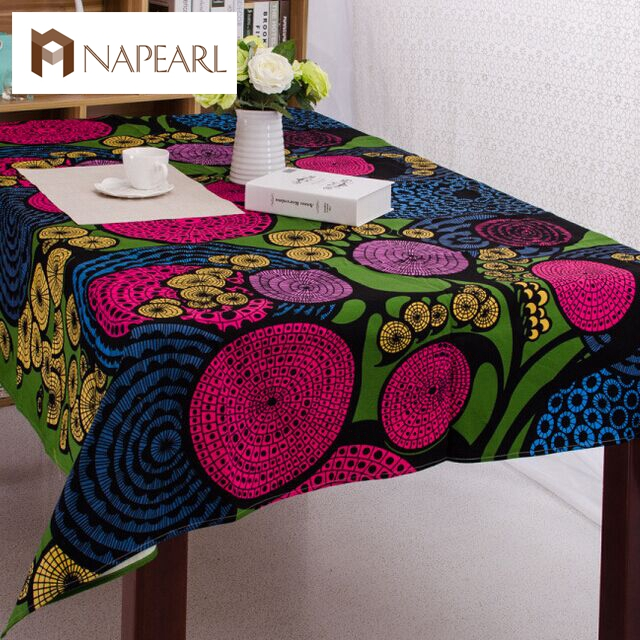 Party Table Cloth Waterproof Oilproof Square TableCloth Printed Nappe Table  Cover Overlay(China (Mainland