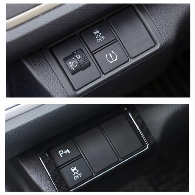 Dwcx Car Texture Dashboard Head Light Switch Lamp On Cover Trim For Honda Civic 10th Sedan