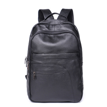 Backpack Woman Man Genuine Cowhide Leather Fashion School Pack Laptop Ipad A4 Book For Boys Girls Casual Travel Bag Pack Gifts