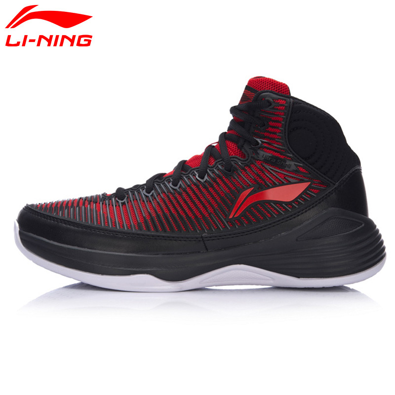 Li-Ning Men's QUICKNESS On Court Basketball Shoes Support Cushioning LiNing Sneakers Sports Shoes ABPM015 XYL113 li ning men s sonic v basketball shoes professional basketball sneakers support lining sports shoes abam019 xyl096