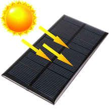Panel Solar Mini 6V 1W 160MA 125*60.5mm Solar Power System DIY For Battery Cell Phone Chargers Portable Solar Cells