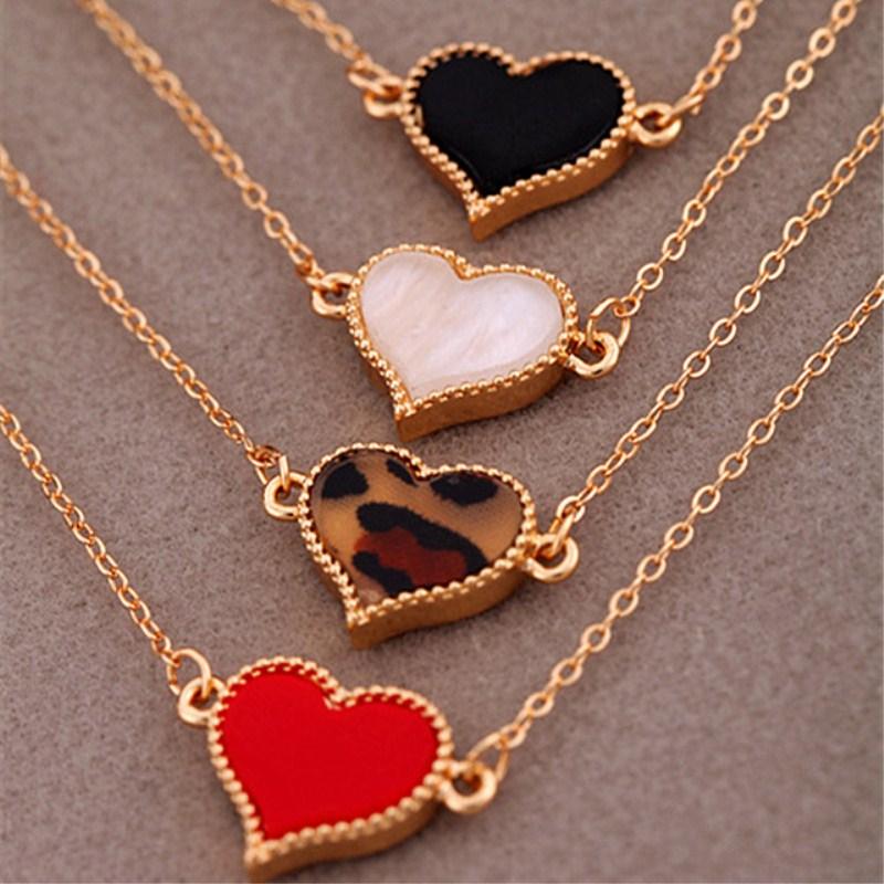 Heart Bracelet Bangles Charm-Chain Wedding-Jewelry Official Minimalist Wholesale Cheap