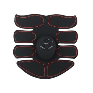 Image 5 - Usb de carregamento abs ems muscular trainer inteligente fitness eletro simulação muscular abdominal sem fio stimulateur musculaire lectrique