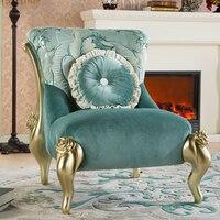 Rosyjski król styl sofa salon kosmetyczny rozrywka sofa tkaniny stołek krzesło nowy klasyczny stolik