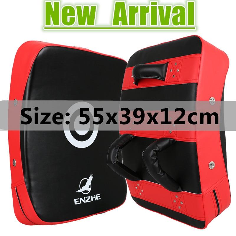 55*39*12cm big Boxing pad TKD foot Target Kick mitt MMA Punch Shield Mitts foot pads karate Targets muay thai Focus Punching Pad  цены