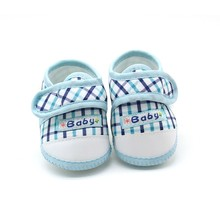 2017 New High Quality Baby Shoes Cute Lattice Star Cartoon Pattern Soft Sole Infant Toddler Prewalkers Shoes M1
