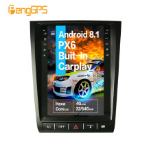 Untuk Lexus GS GS300 GS460 GS350 2004-2011 Tesla Layar Android Px6 Mobil Multimedia Radio Upgrade Stereo Player GPS NAV Head Unit(China)