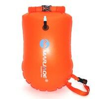 Наружная портативная водостойкая сумка для хранения сухая сумка для плавания спасательный круг надувная Флотационная сумка ПВХ 20л для пла...
