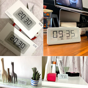 Image 5 - Xiaomi MIJIA BT4.0 ساعة رقمية ذكية لاسلكية ، ساعة داخلية وخارجية ، مقياس رطوبة ، ميزان حرارة ، LCD ، أدوات قياس درجة الحرارة