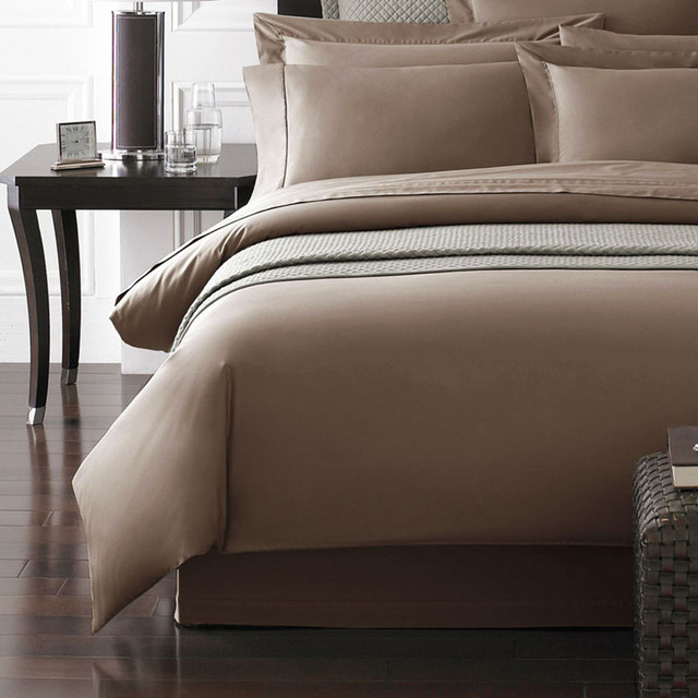 1200 Thread Count Gold Brown Purple Color Special Egyptian Cotton Bedding  Set King Queen Size 4