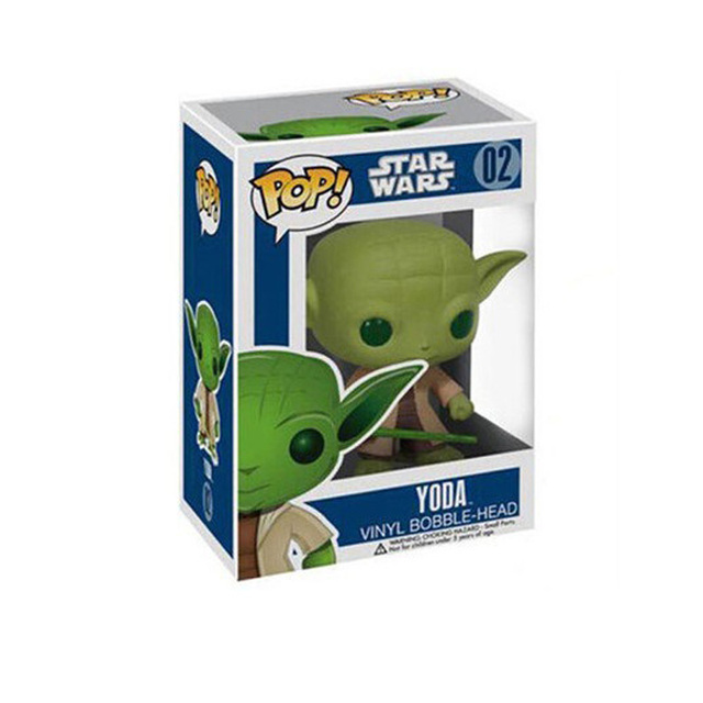 Funko pop Star Wars Jedi Knight Master Yoda PVC Action Figure Collectible Model Toy Doll Gift 1