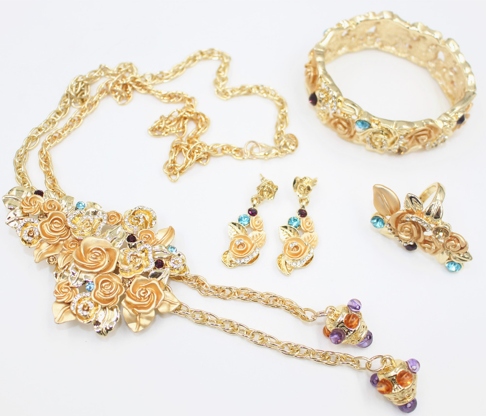 Amazing New Style Gold Necklace Set Collection Photos - Jewelry ...
