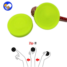 The Balance of Flying Saucer Creative UFO Zipchip Flying Saucer Can Fly More Than 60 Meters To Play Mini Silicone Fitness Toys