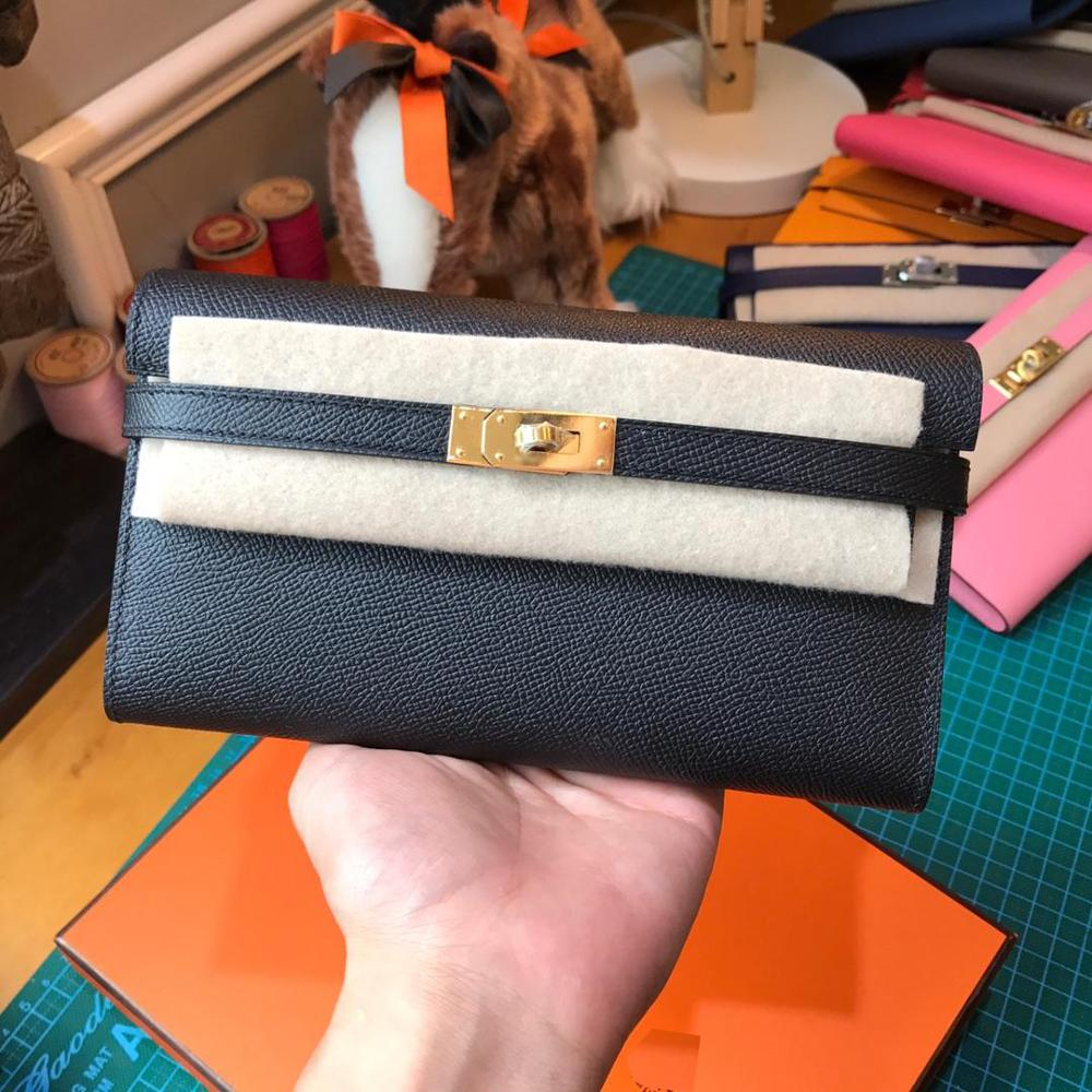 Bagaj ve Çantalar'ten Cüzdanlar'de En kaliteli bayanlar lüks moda bayanlar cüzdan kaliteli klasik 100% deri marka ünlü tam el yapımı ücretsiz kargo'da  Grup 1