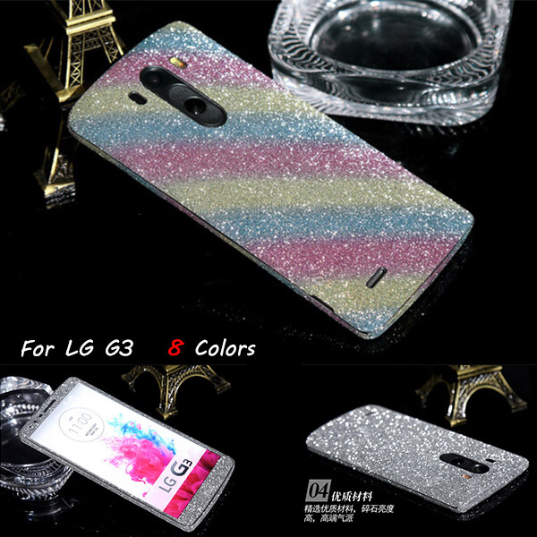 save off 87fb5 fb9ae US $85.0  50 Pcs Luxury Bling Rhinestone Full Body Film Case For LG G3  Glitter Front And Back Screen Protector Guard Case on Aliexpress.com    Alibaba ...