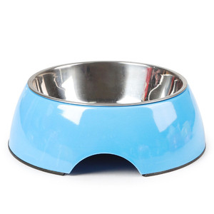 Pet Dog Bowl Feeders Medium large Dog puppy Cat Drinking Water Device stainless steel Non-slip Food dish Pet Supplies product