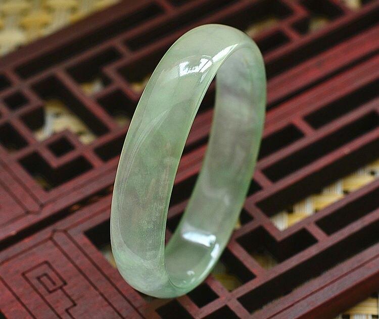 Natural Burmese yu Bracelet Ice Through Oval Royal yu Bracelet цены онлайн