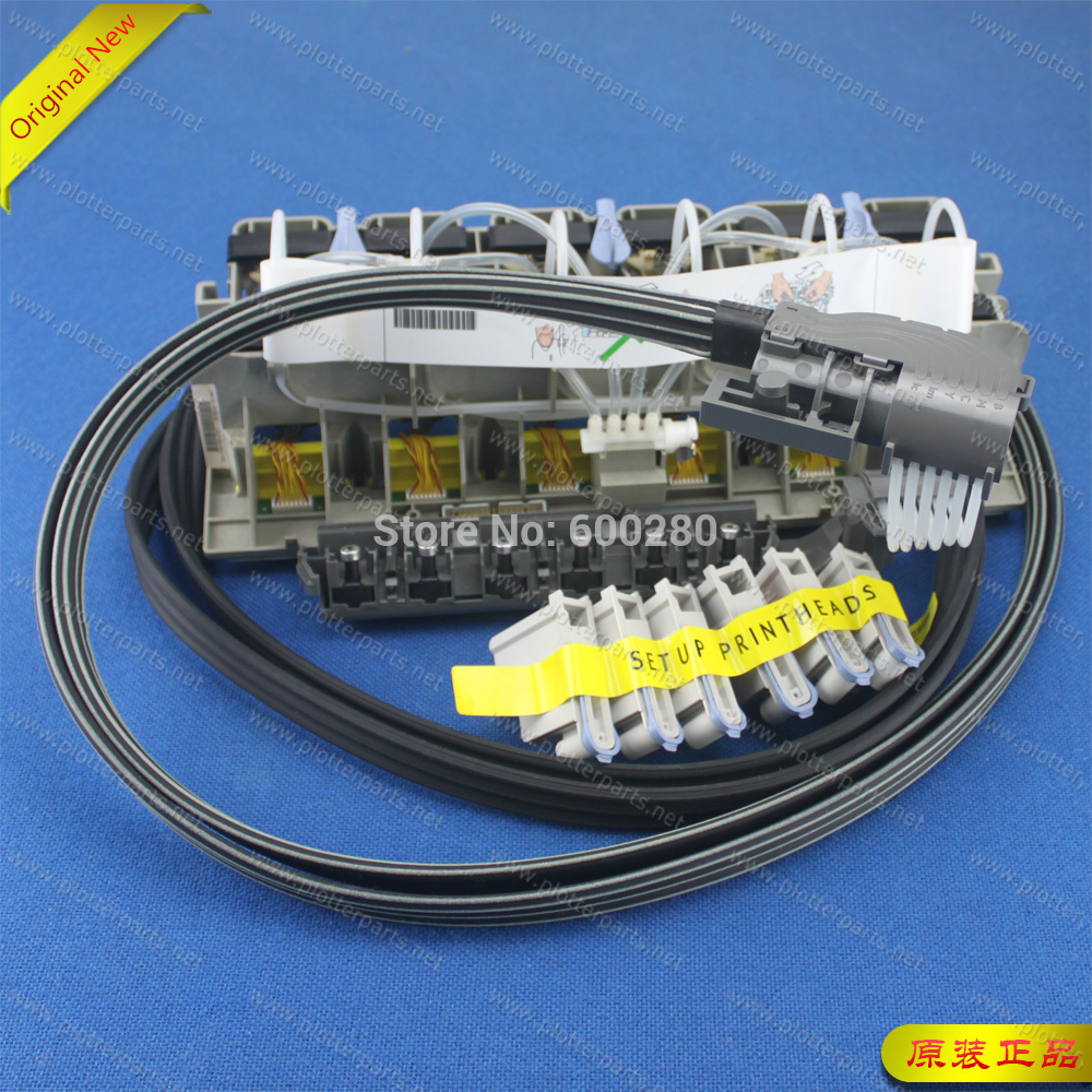 C6090-60058 Ink Tubes Assembly Dey 42 Inch for HP DJ 5000 5000PS 5500 5500PS Plotter Part Q1251-60254 Original new весы ps 5000 rus купить
