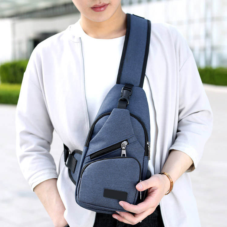 Fashion Men Shoulder Bag Usb Charge Anti Theft Security Waterproof Travel Man Crossbody Messenger Casual Bag Lby2017 #5
