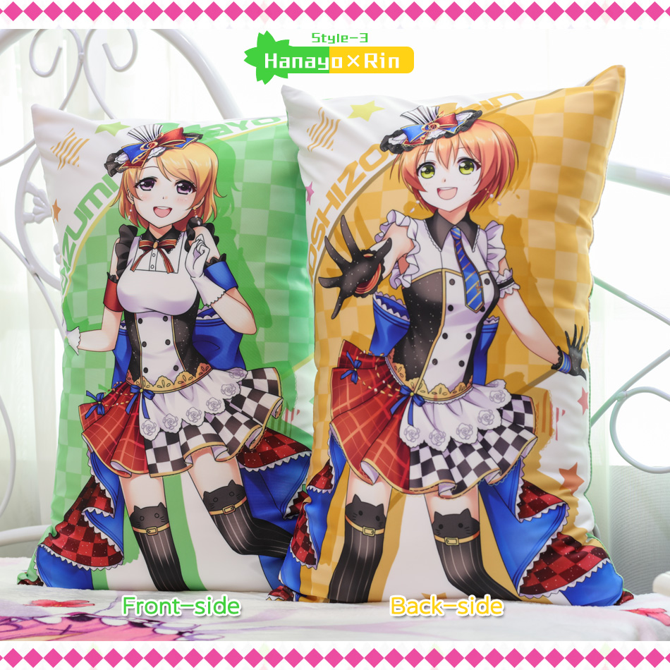 Japanese Anime Love Live Staff Hugging Body Back Pillow School Idol - Home Textile - Photo 4