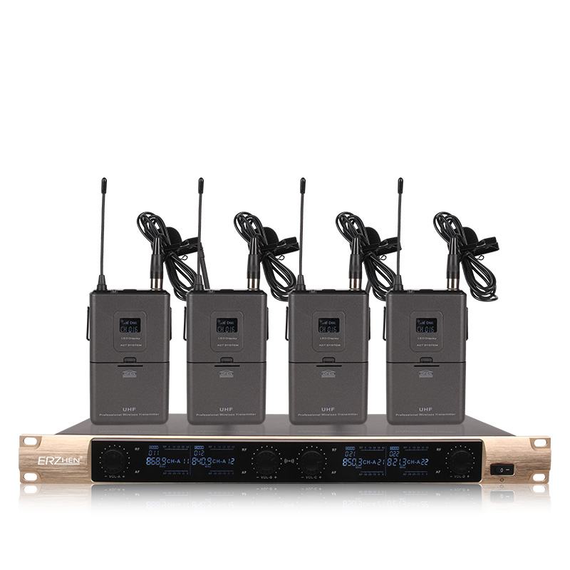 Envío gratis Sistema de Micrófono Inalámbrico X-4600 Micrófono - Audio y video portátil - foto 4