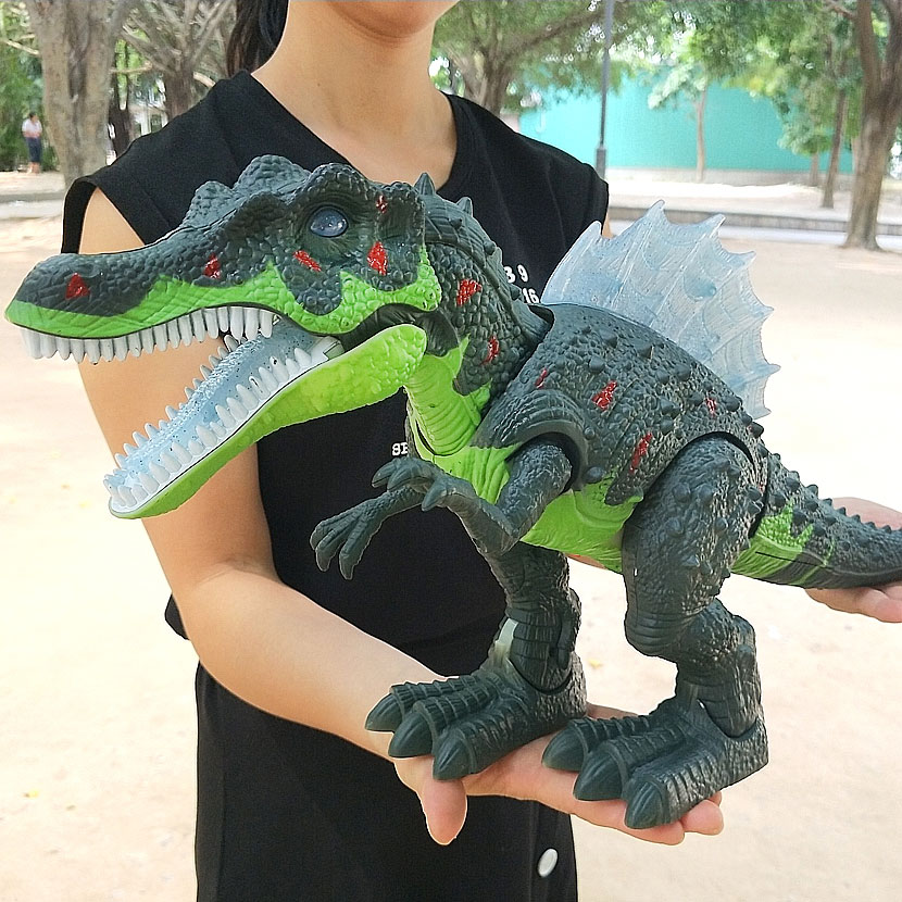 Big Size 51CM Wild Life Electric Walking And Sound Dinosaur Toy World Park Dinosaur Model Action Kids Boy Gift, Hot Toys