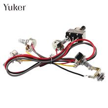 Wiring Harness 2V 2T 3 Way Pickups Toggle Switch Pots For Guitar Dual LP Replacement New_220x220 popular dual pot buy cheap dual pot lots from china dual pot dual wiring harness replacement at gsmx.co