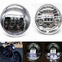 1pcs LED Headlight for Harley Davidson Vrod V Rod V ROD VRSC VRSCDX VRSCA 02 17