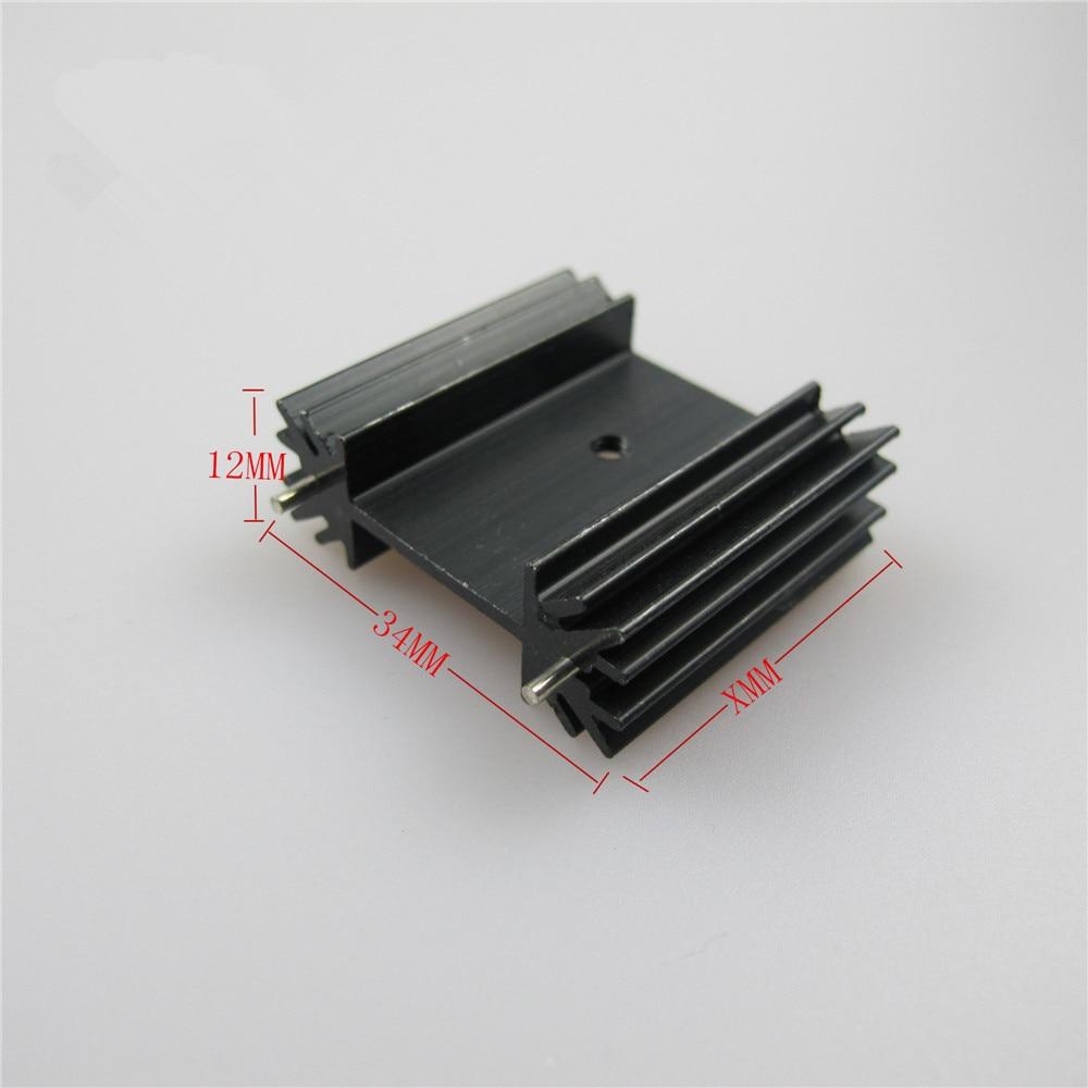 Радиатор для охлаждения Triode IC, 6 шт., для 220, 781, 7805, IC, алюминиевый радиатор, 34*12*30 мм|cooler radiator|aluminum heatsinkheat sink | АлиЭкспресс