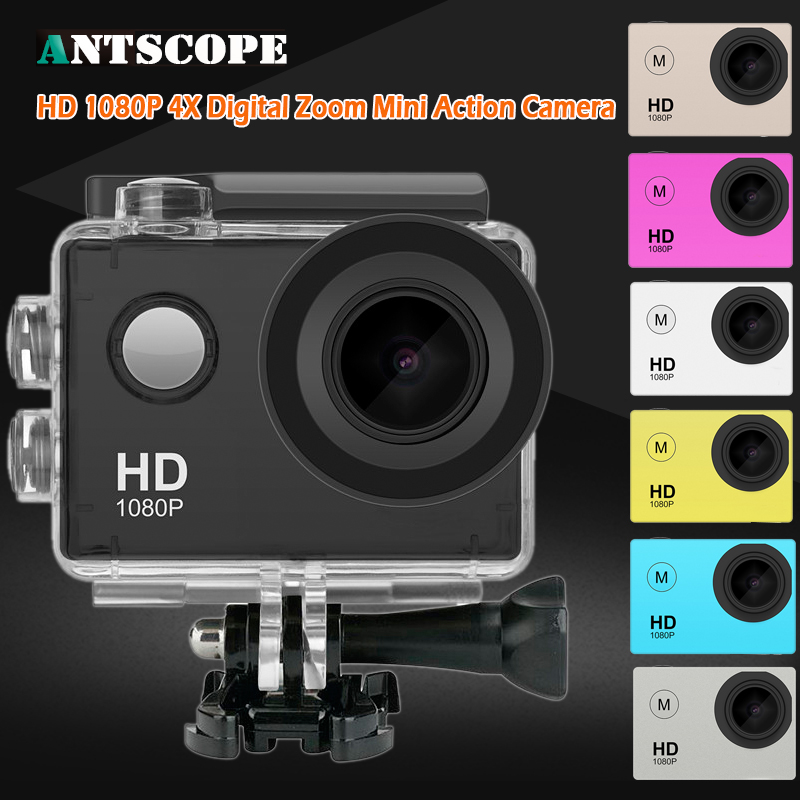 Action Camera Original 4K Wifi Ultra FULL HD 1080P/15FPS 720P/30fps Go Waterproof Mini cam Rro Bike Video Sports Camera original eken action camera eken h9r h9 ultra hd 4k wifi remote control sports video camcorder dvr dv go waterproof pro camera