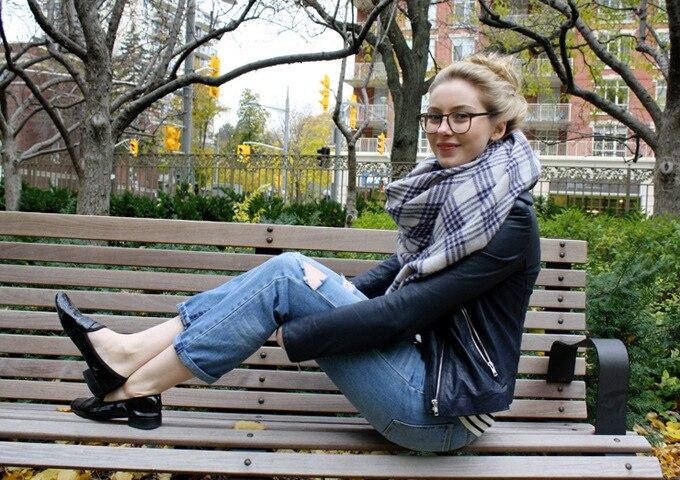 Lady Women Winter Infinity Blanket Oversized Shawl Plaid Check font b Tartan b font Scarf Wrap