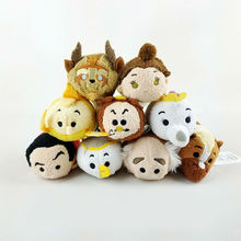 8 style 2016 New Beauty and the Beast Mini Tsum Tsum Plush Collection Plush Toys peluche doll