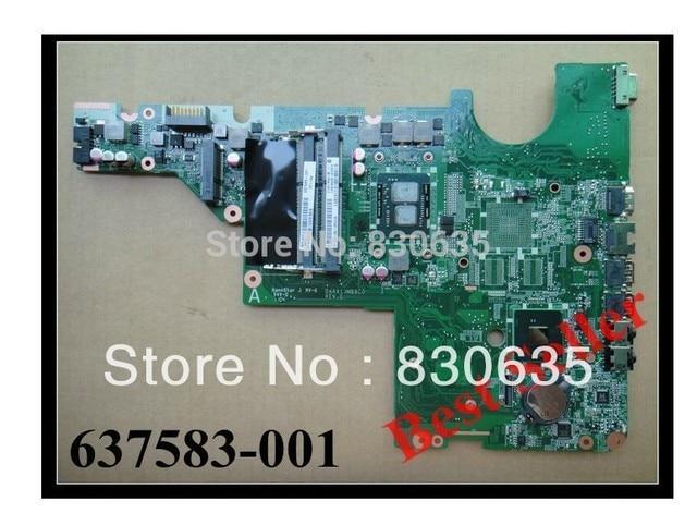 637583-001 laptop motherboard 637583-001 l G62 CQ62 DAAX1JMB8C0 7% off Sales promotion, FULL TESTED,