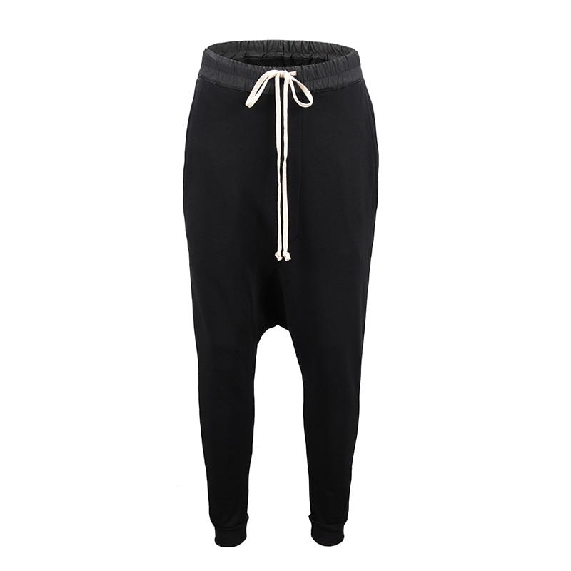90 S nouveau HipHop RO style haute qualité modèle classique INS joker Chao personnes Terry coton noir loisirs pantalons de survêtement hommes femmes Oversize